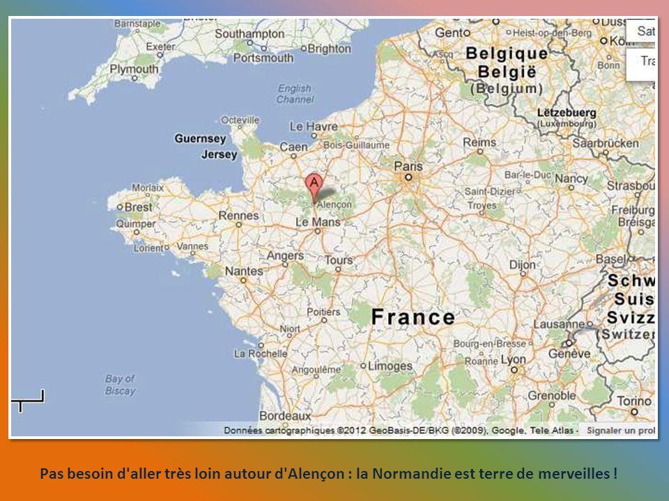 Saint-Denis-Sur-Barthon fut le lieu de naissance et de baptême de la maman de Sainte Thérèse de Lisieux.