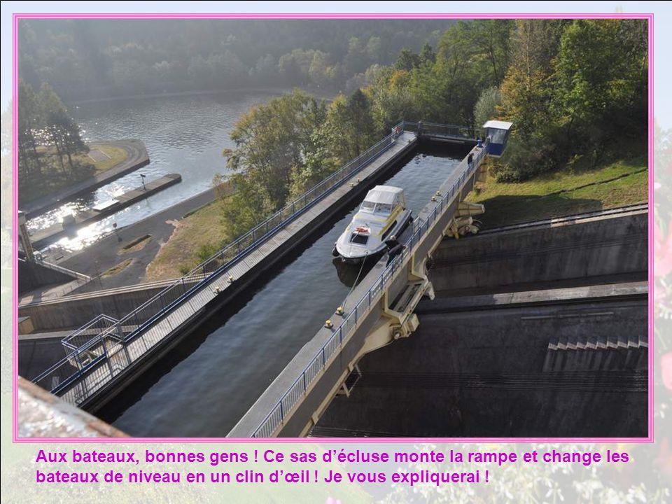 A Saint-Luz-sur-Arziller, à qui, à quoi sert donc ce plan incliné ?