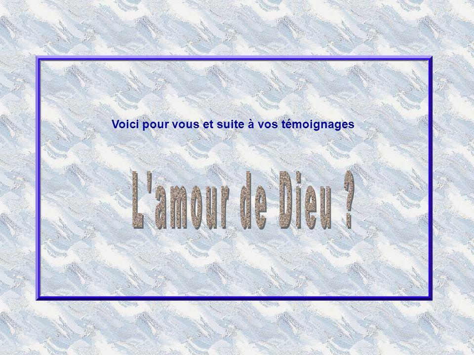 Île Maire Comme en écho à cet « appel à lamour », une correspondante de Diane a choisi « lamour de la vie ».