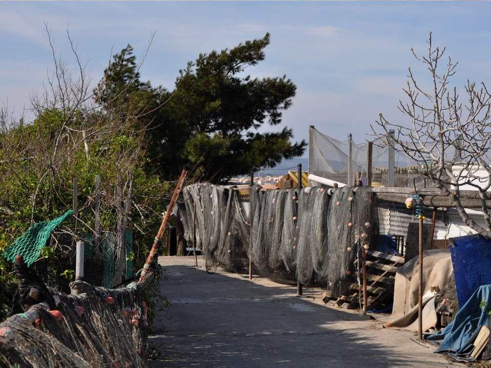 Les photos suivantes ont été prises au village des pêcheurs à lentrée de Sète.
