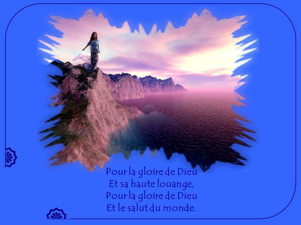 Un homme au cœur de chair Nous invite au bonheur que donne son amour : La joie qui vient de lui vient témoigner de Pâques !