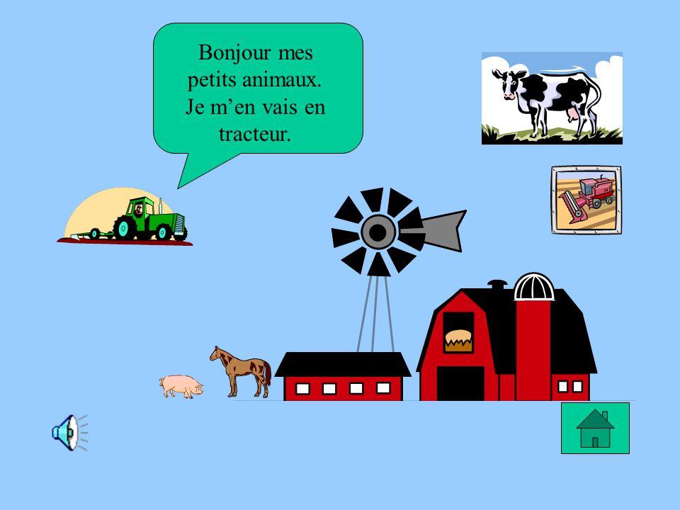 Le rêve de Tristan Je rêve de devenir fermier pour moccuper des animaux.
