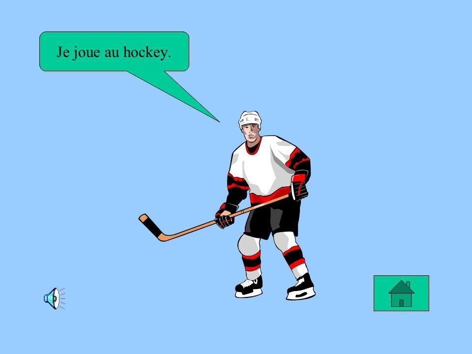 Le rêve de Thomas Je rêve de devenir un joueur de hockey pour compter des buts.