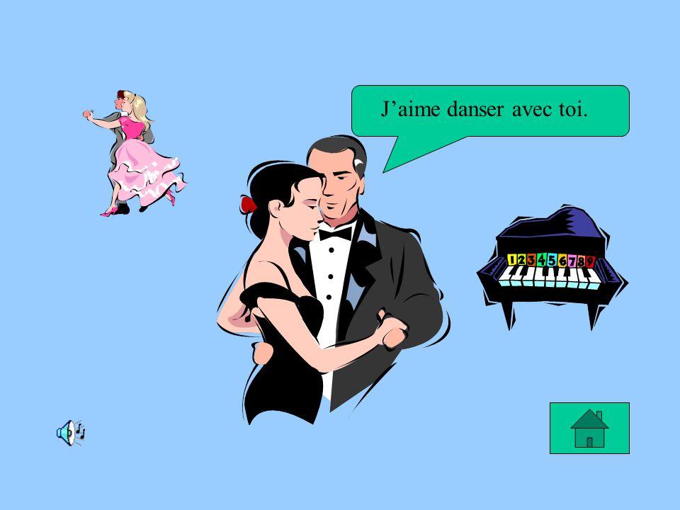 Le rêve de Patricia Je rêve de devenir une danseuse pour faire des spectacles.