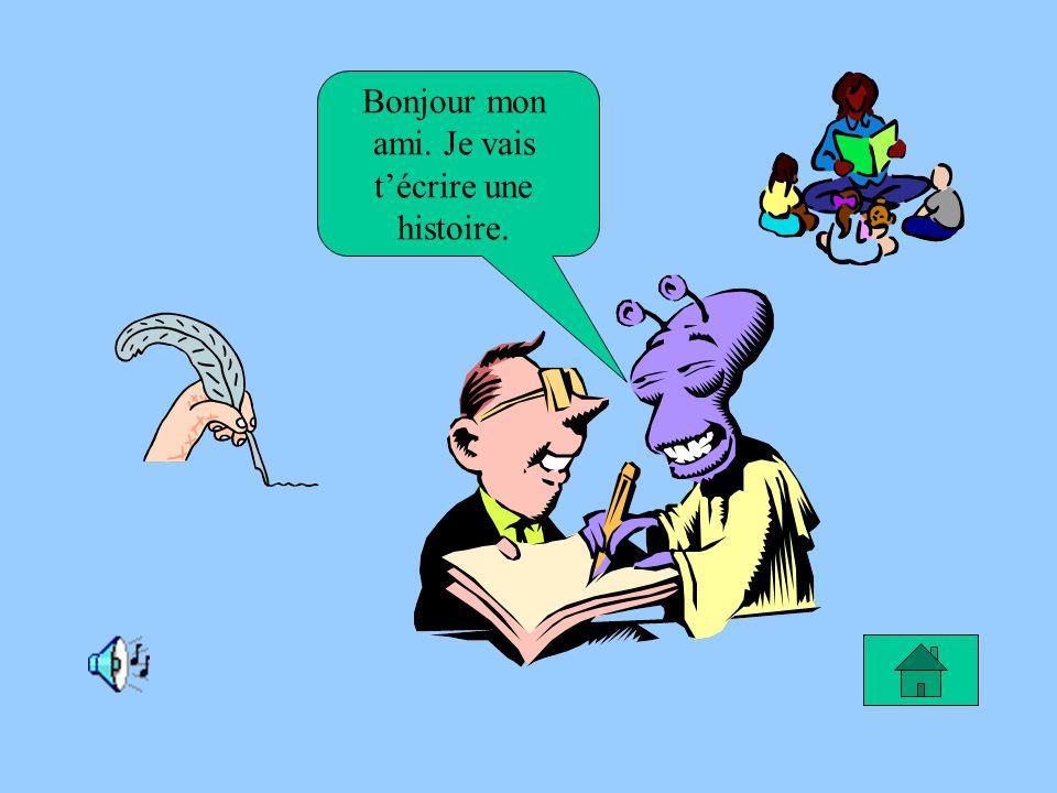Le rêve de Samuel Je rêve de devenir un écrivain pour créer des bandes dessinées.