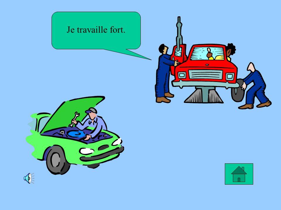 Le rêve dAnthony Je rêve de devenir peintre pour les voitures.