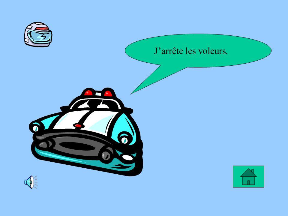 Le rêve de Sabrina Moi, mon rêve serait dêtre une policière pour arrêter les gens qui conduisent trop vite leur voiture.