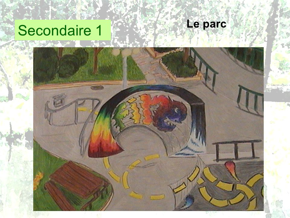 Secondaire 1 Le parc