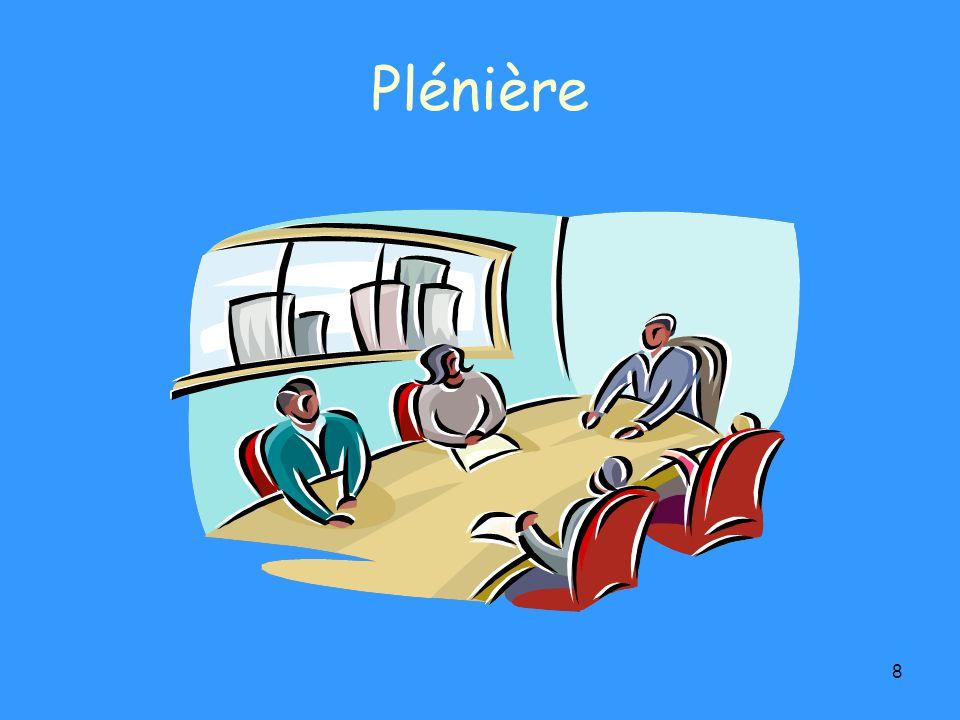 8 Plénière