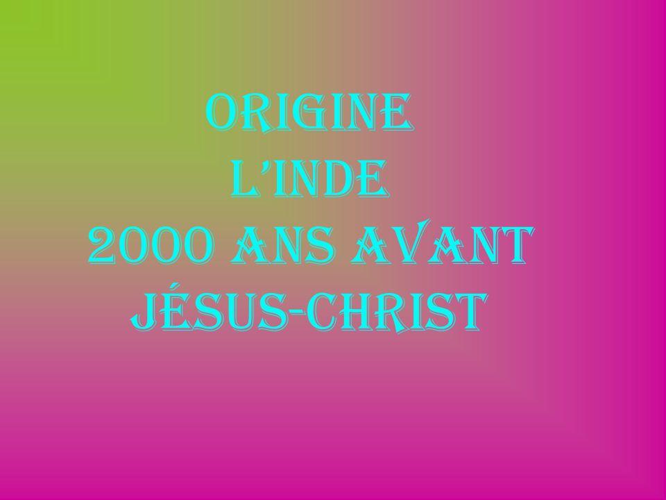 Origine LInde 2000 ans avant Jésus-christ