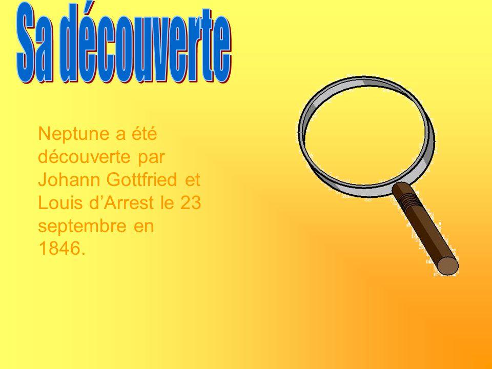Neptune a été découverte par Johann Gottfried et Louis dArrest le 23 septembre en 1846.