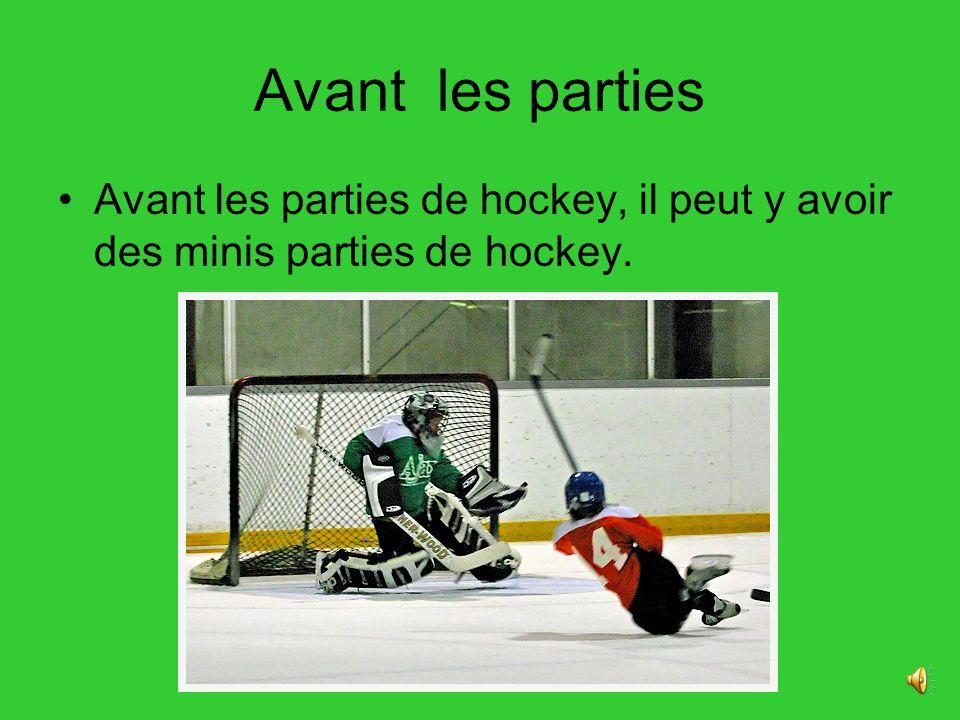 Les équipes Il y a beaucoup déquipes dans la ligue nationale de hockey.