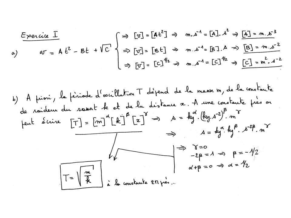 On trace les droites en X passant par les «extrêmes » figurés par des cercles.