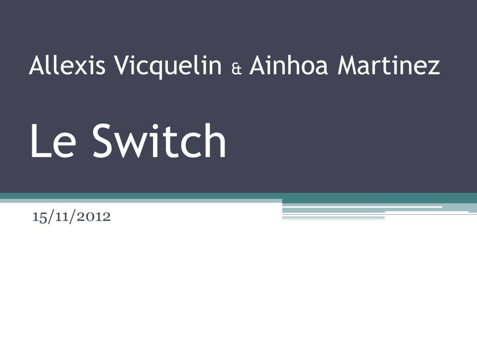 Allexis Vicquelin & Ainhoa Martinez Le Switch 15/11/2012
