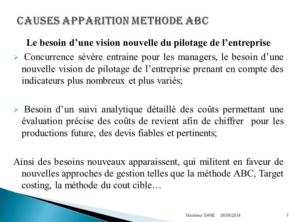 Bien quayant beaucoup davantages, la méthode ABC, comme toute méthode de gestion est loin dêtre parfaite.