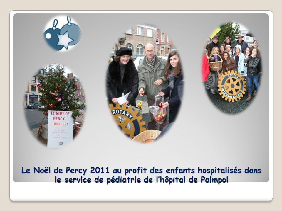 Le Noël de Percy 2011 au profit des enfants hospitalisés dans le service de pédiatrie de lhôpital de Paimpol