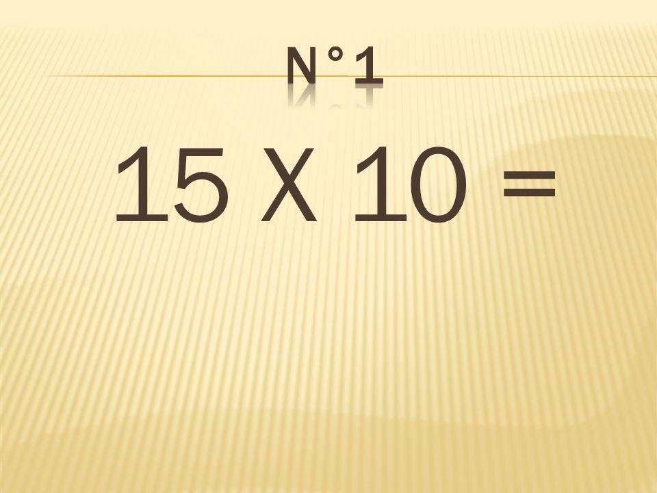 Double de 75= 150