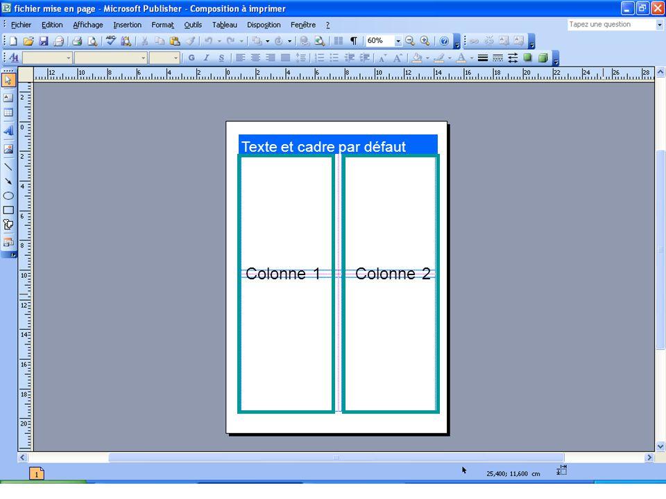 Colonne 1Colonne 2
