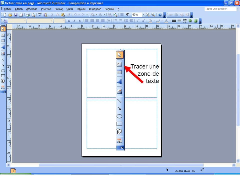 Texte et cadre par défaut Je rédige un texte propre et bien mis en page Texte en italique