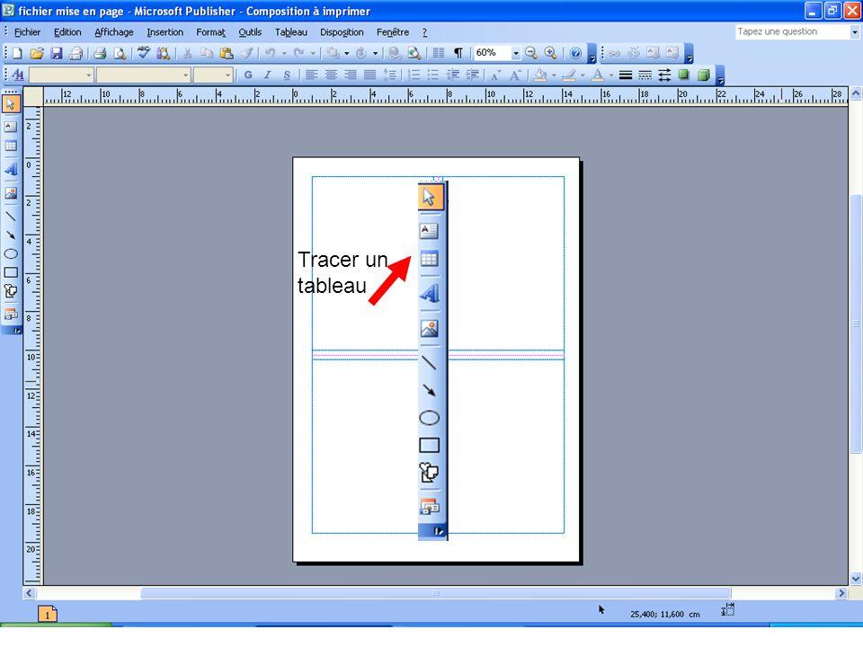 Gérer le plan dune image Nous voulons faire passer le bébé en dessous des deux autres images… 1) Sélectionnez limage 2) Cliquez sur cet icône :