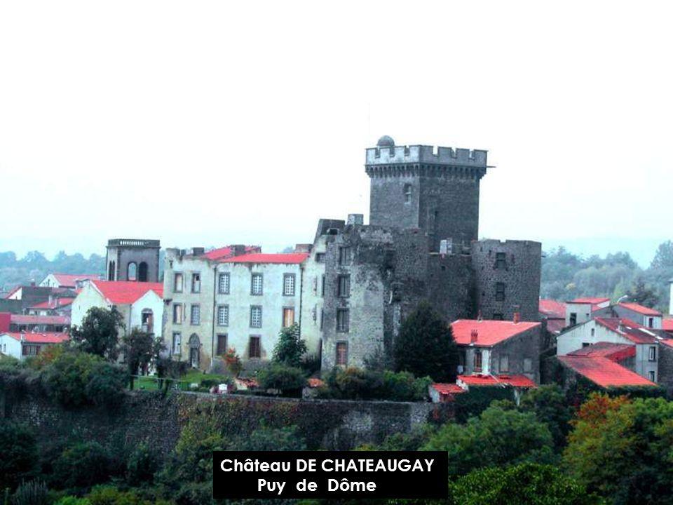 Château d AULTERIBE Puy de Dôme