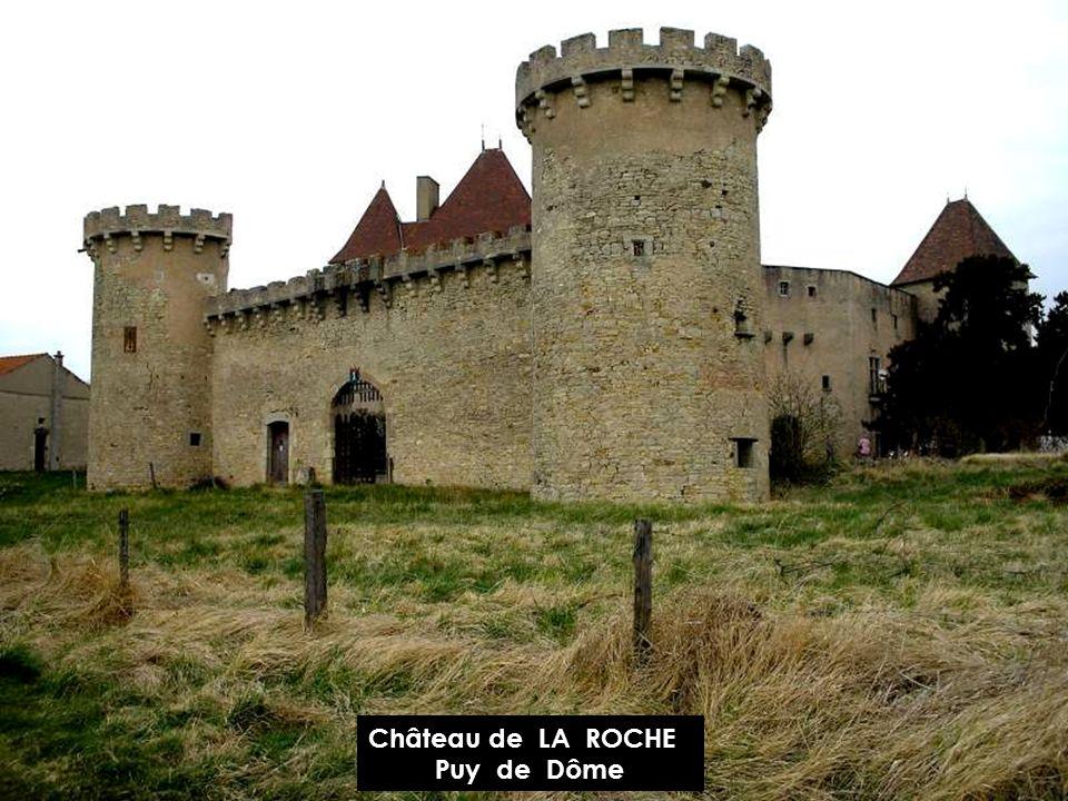 Château de RANDAN Puy de Dôme
