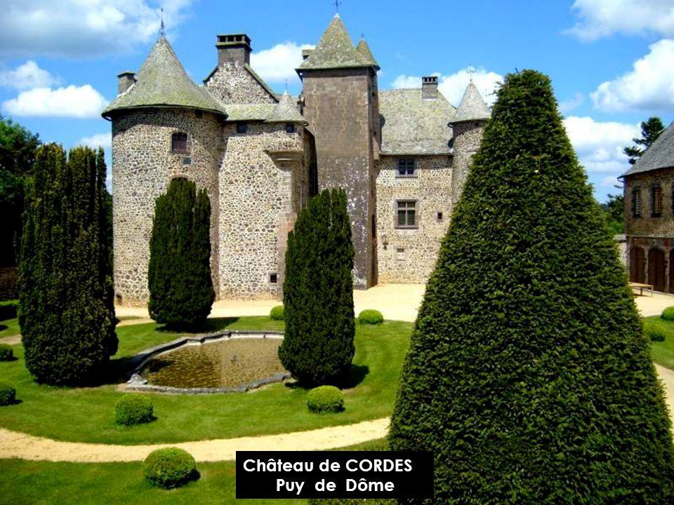 Château dEFFIAT Puy de Dôme