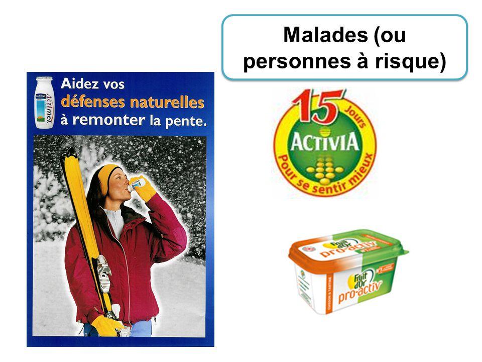 Malades (ou personnes à risque)