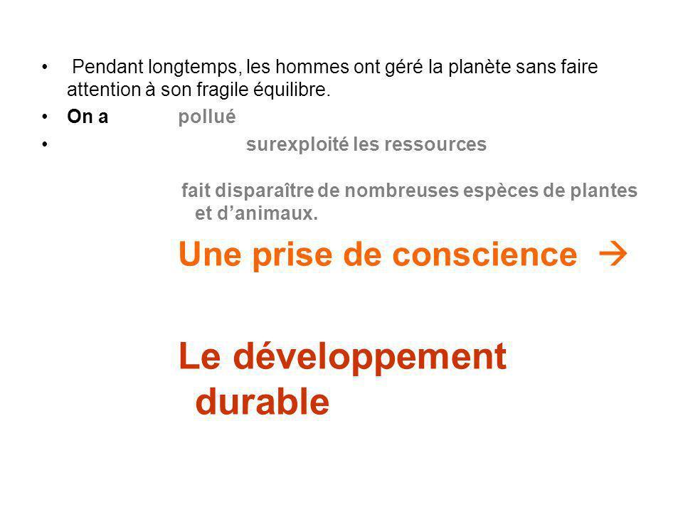 3- LÉducation au Développement durable à travers le socle commun de connaissances et de compétences.
