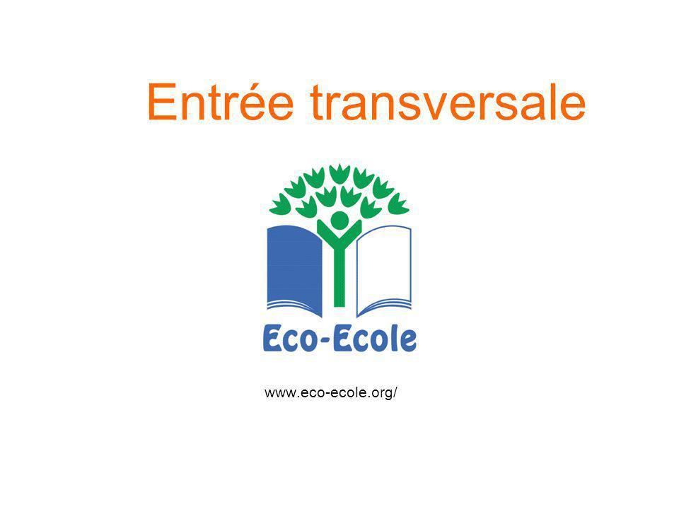 Entrée transversale www.eco-ecole.org/
