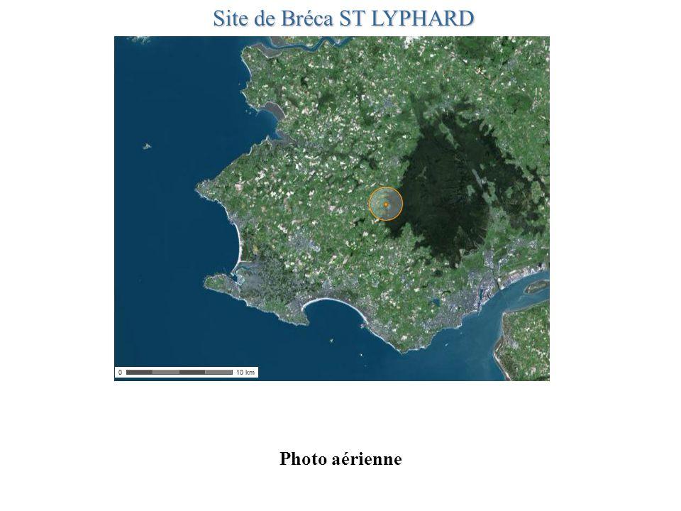 Photo aérienne Site de Bréca ST LYPHARD
