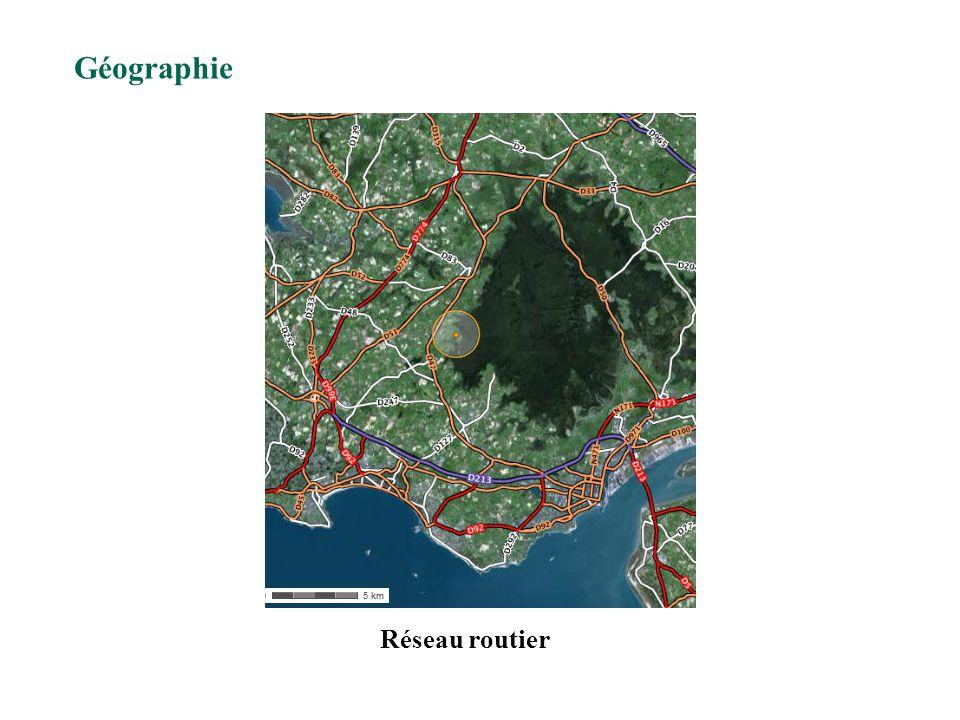 Réseau routier Géographie