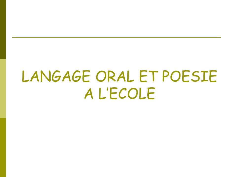 La Poésie et son lecteur : une relation originale La poésie remet en question notre rapport à la langue : On « sort » des dimensions utilitaires, fonctionnelles, des conventions du récit littéraire.