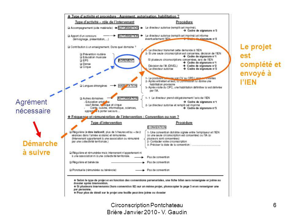 Circonscription Pontchateau Brière Janvier 2010 - V.