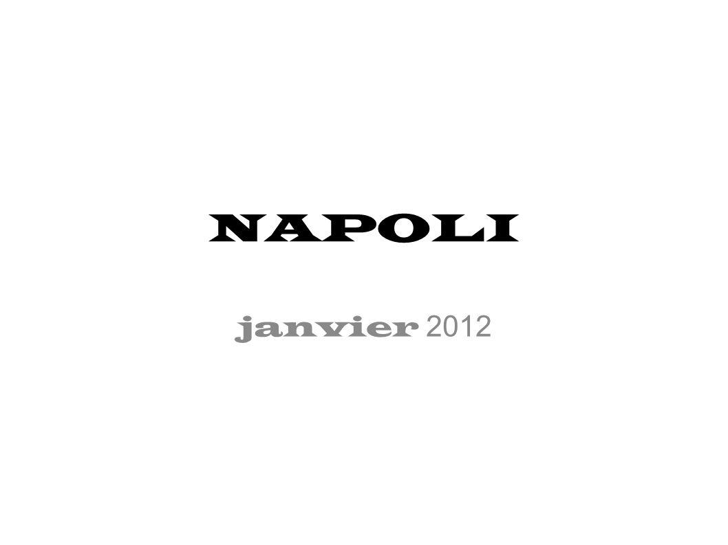Lundi 30 janvier Naples Jeu de piste dans Naples Visite du musée archéologique