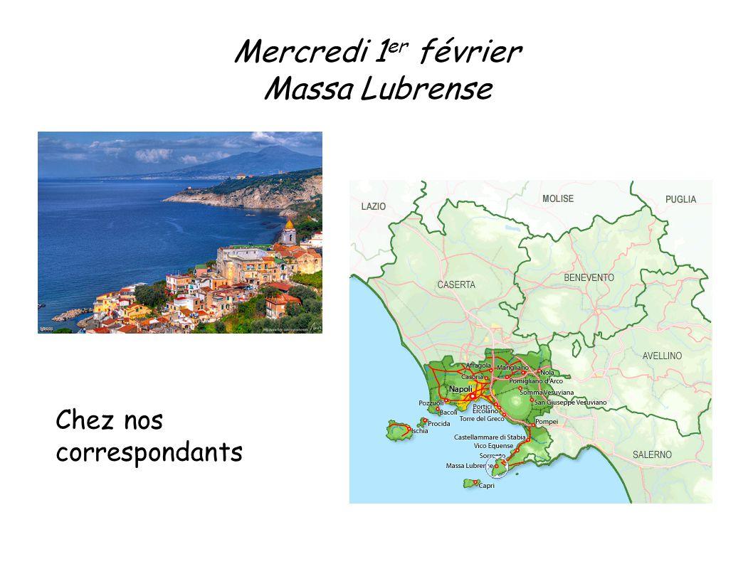 Massa Lubrense, petite ville d Italie Massa Lubrense se situe au sud-ouest de l Italie en Campanie, sa population est de 13 985 habitants.