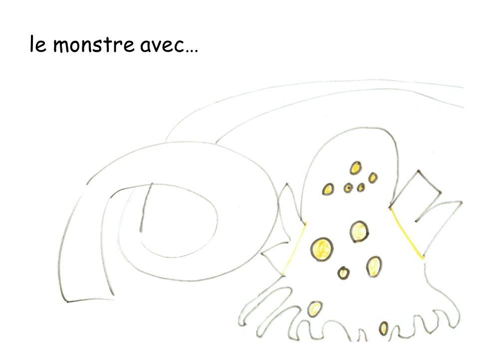 le monstre avec…