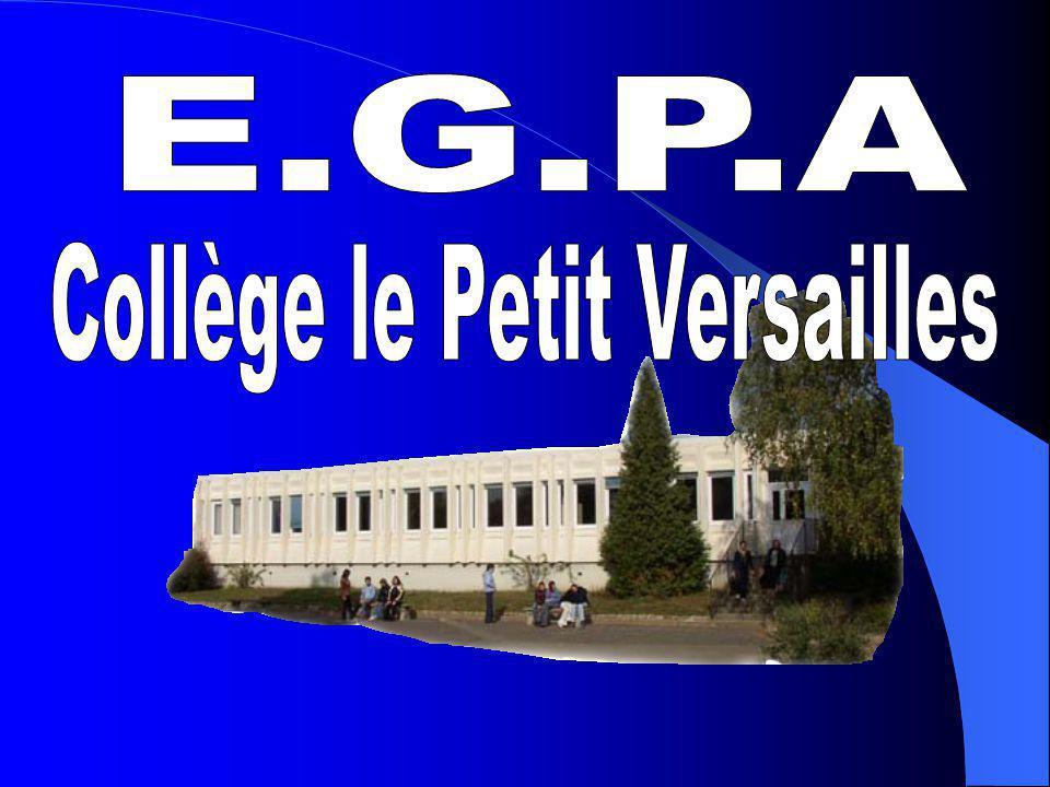 DEnseignement Général Professionnel Adapté Collège le petit Versailles
