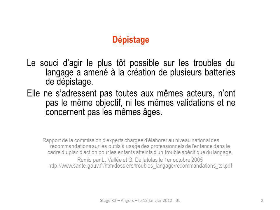 13Stage R3 – Angers – le 18 janvier 2010 - BL