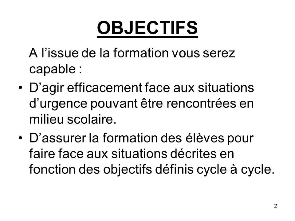 Démarche générale de laction de secours La démarche commune aux quatre séquences comprend les actions de : Protéger pour éviter un suraccident.