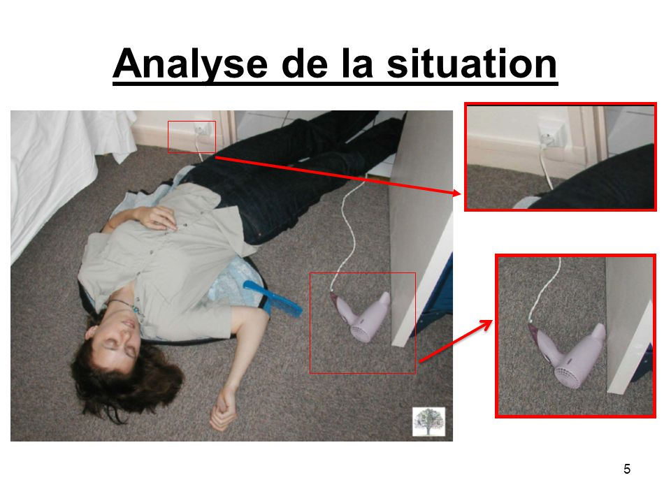 Analyse de la situation 5