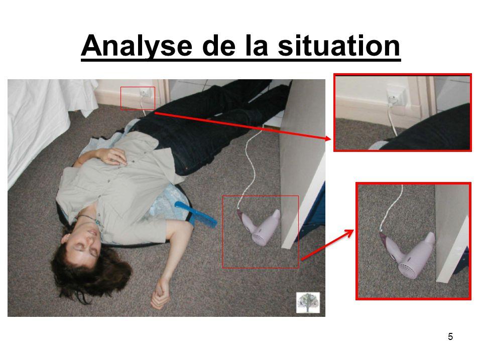 La protection Après observation de la situation être capable deffectuer si nécessaire une protection : De soi-même.