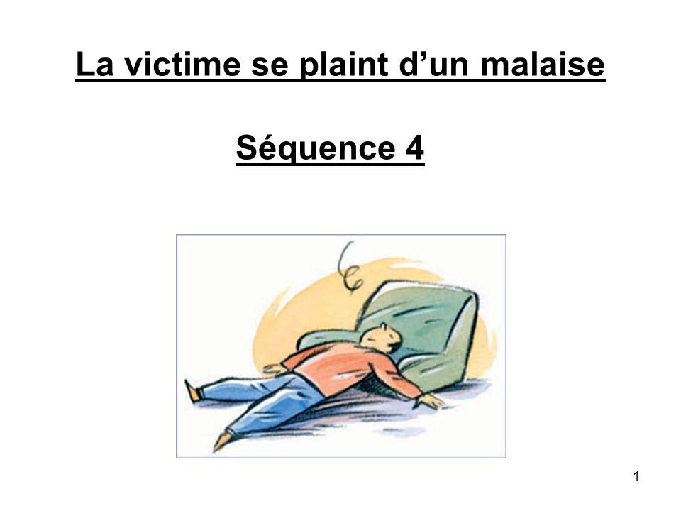 La victime se plaint dun malaise Séquence 4 1