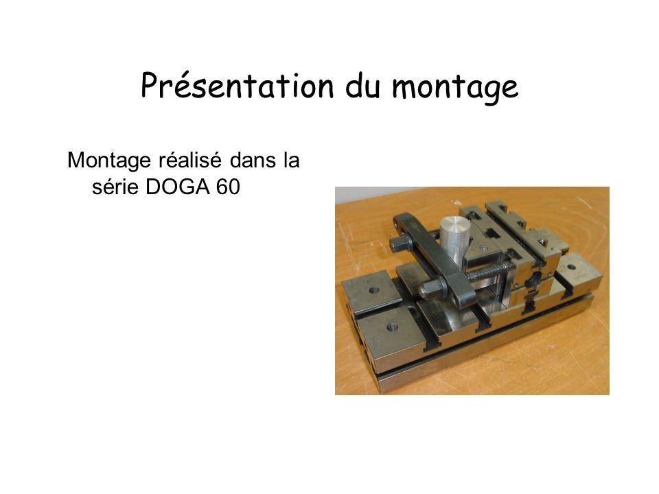 Présentation du montage Montage réalisé dans la série DOGA 60