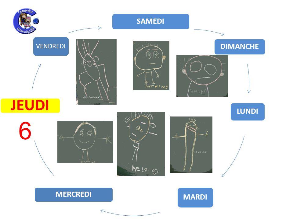LUNDI MARDI MERCREDI JEUDI VENDREDI SAMEDI DIMANCHE 17