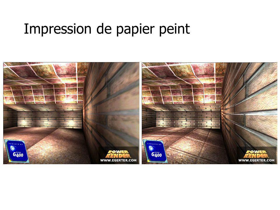 Impression de papier peint