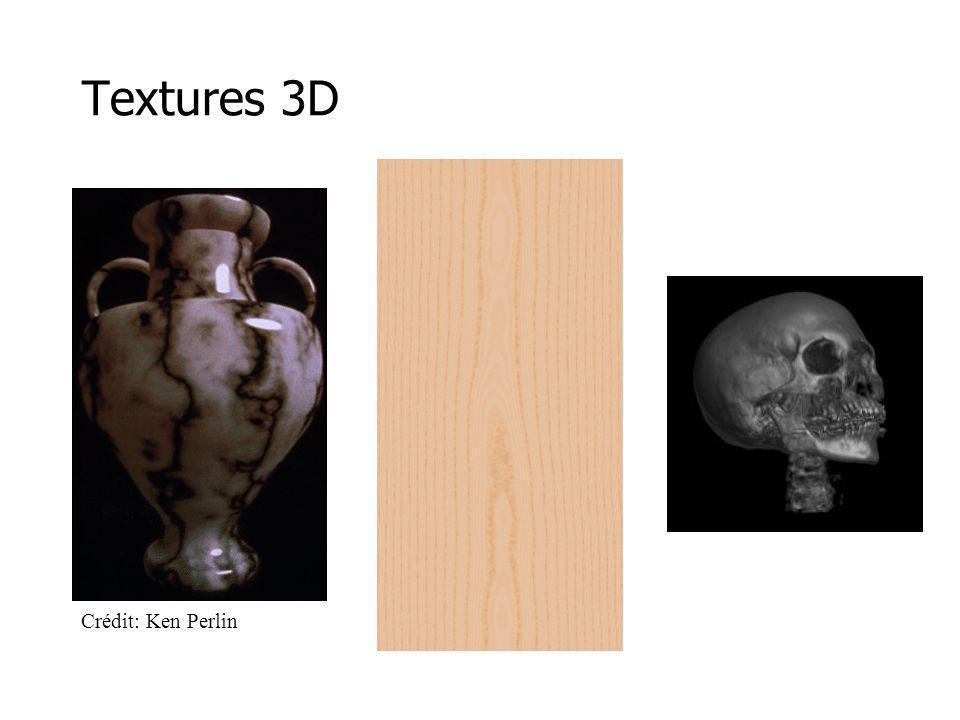 Textures 3D Crédit: Ken Perlin