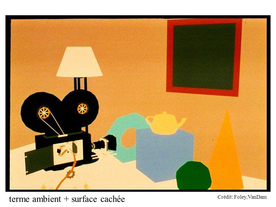 terme ambient + surface cachée Crédit: Foley,VanDam