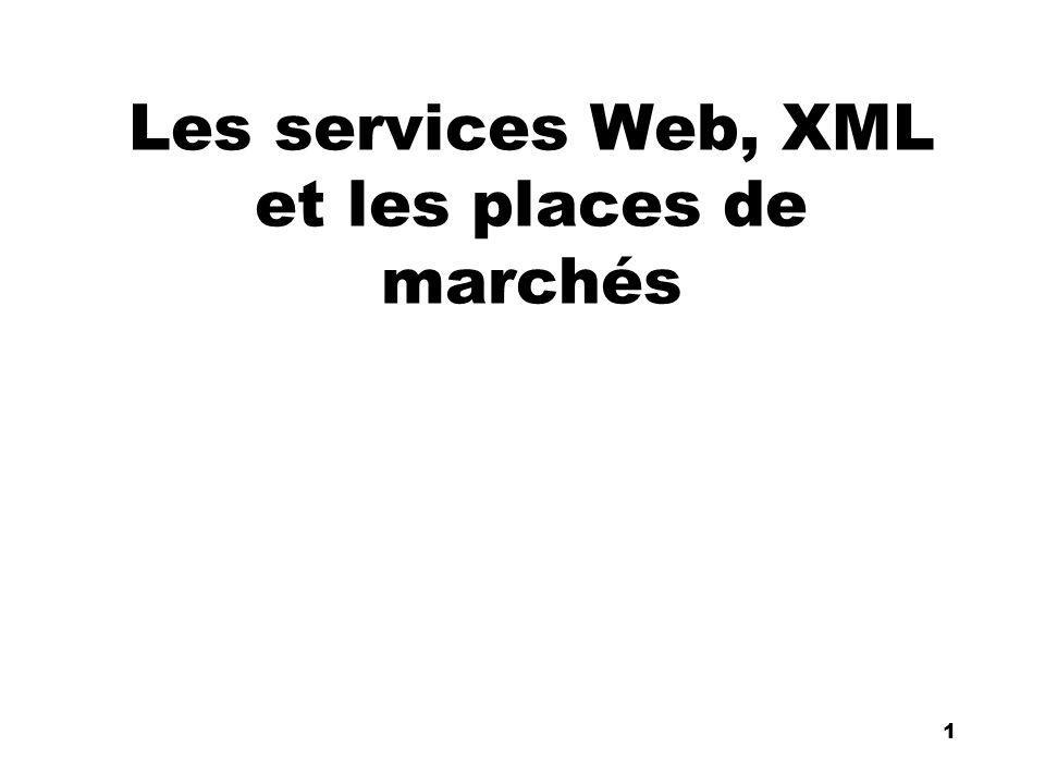 An Introduction to distributed applications and ecommerce 1 1 Les services Web, XML et les places de marchés