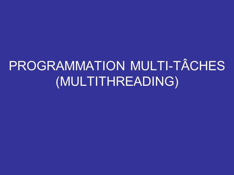 IFT10202 OBJECTIFS Comprendre comment un programme peut être fragmenté et exécuté en parallèle.